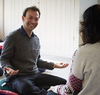 Ed Halliwell teaching mindfulness